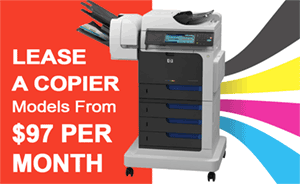 Monthly Copier Lease