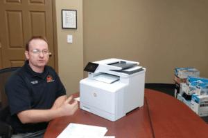HP Pro M477 Color Laserjet for Lease