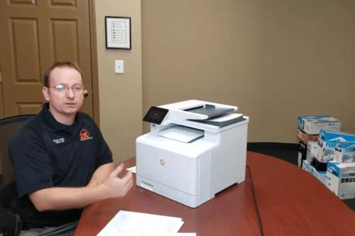 HP Pro M477 Color LaserJet for Lease at IOT