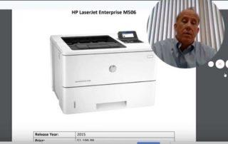 HP LaserJet M506