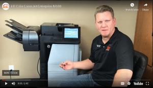 HP Color LaserJet Enterprise M680
